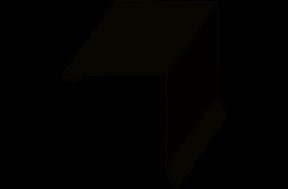 фасонный элемент для обрамления оконных блоков