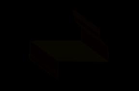 вид фасонного элемента - верхний откос
