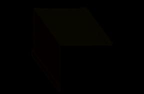 фасонный или доборный элемент - внутренний угол